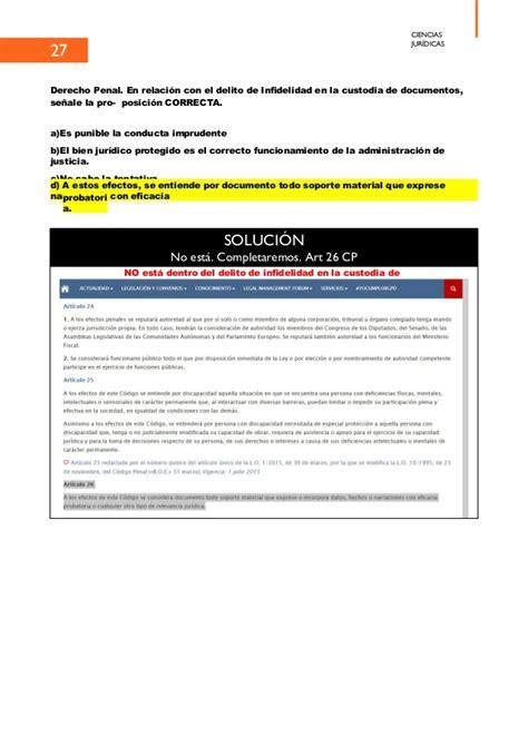Examen guardia civil 2018 corregido 7 Julio