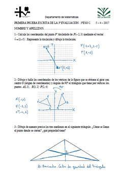 Examen matemáticas 1º eso tema 1 | Matemáticas | Educacion ...