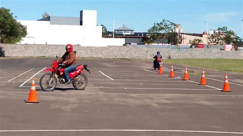 Examen practico de moto Ciudad de Corrientes   YouTube