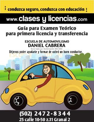 Examen Teórico GUIA by Escuela Cabrera   Issuu
