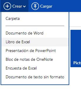 Excel Online   Como Abrir un Nuevo Libro Excel en Onedrive ...