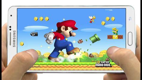 Excelente Juego New Super Mario Bros para Android   YouTube