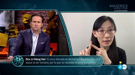 Exclusiva Informe COVID: Li Meng Yan repite su mensaje con ...