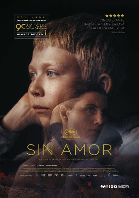 Exclusiva: Póster oficial de Sin amor | Cine PREMIERE