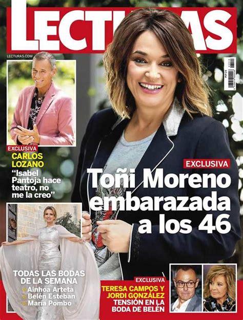 EXCLUSIVA: Toñi Moreno, embarazada a los 46 años