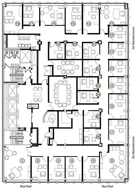 executive office suite floor plan   Google Search # ...