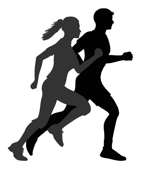 Exercise Makes You Smarter   Silhouette, Running ...
