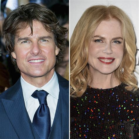 Exes Tom Cruise and Nicole Kidman Reunite for Dinner in ...