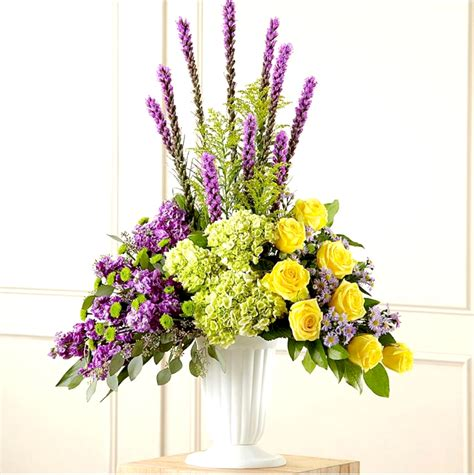 Exotic Funeral Arrangement   Sunlight Flower Shop