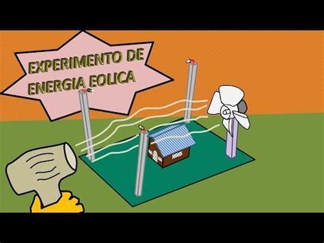 Experimento de energía eólica   YouTube