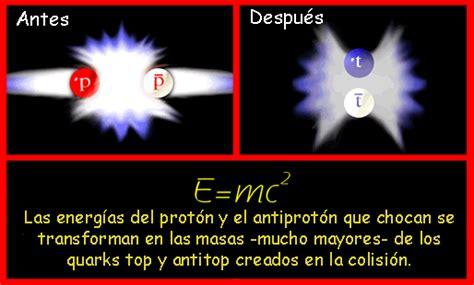 Explicación del principio de equivalencia masa energía ...
