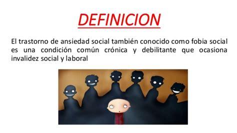 Exposición 07 Trastorno de Ansiedad Social