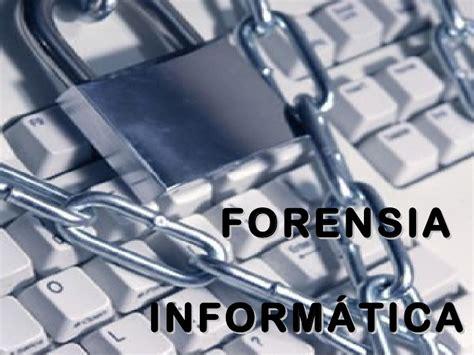 Exposición forensia informática