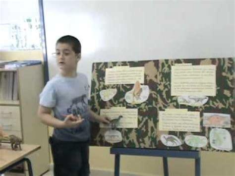 Exposición oral sobre dinosaurios Primer Curso CEIP LAS ...