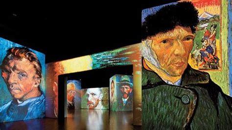 Exposición Van Gogh Alive at Círculo de Bellas Artes, Madrid