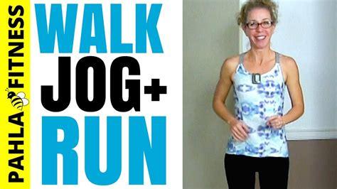 Express WALK, JOG + RUN HIIT   10 Minute INDOOR Walking ...