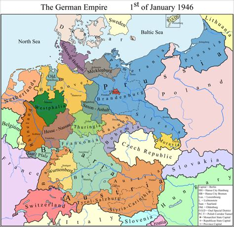 ExReFuISOT Germany map by Samuel Von Strasburg | Fantasy ...