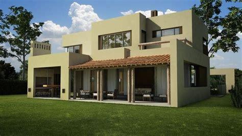 exterior casa moderna y rustica verde palido   Casa Web