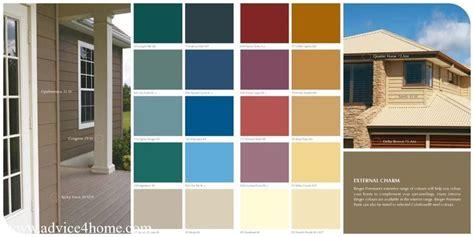 External Charm Berger Paints Premium color guide ...
