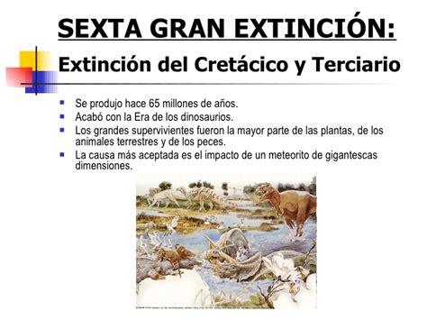Extinciones masivas Manuel Gil