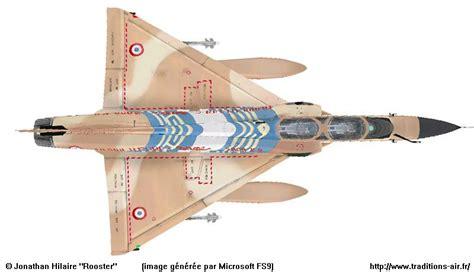 Extrados intrados pour les livrées spéciales Avions Mirage ...