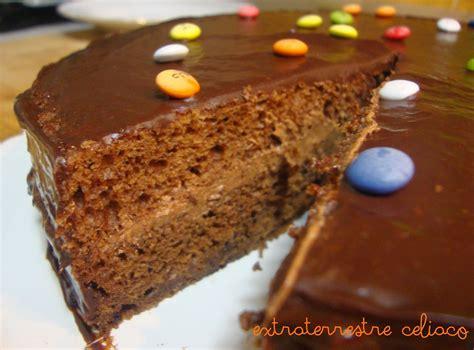 ExtraTerrestre Celiaco: Tarta de chocolate y Lacasitos sin ...