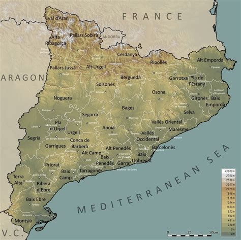 Extreme points of Catalonia   Wikipedia