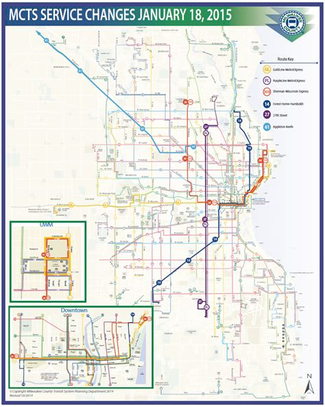 Eyes on Milwaukee: Four New Bus Routes Start Sunday ...