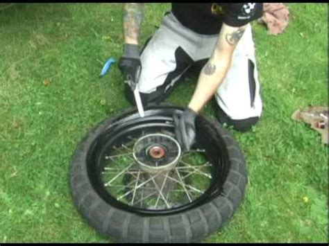 F800GS Tire Change Part 1.mpg   YouTube