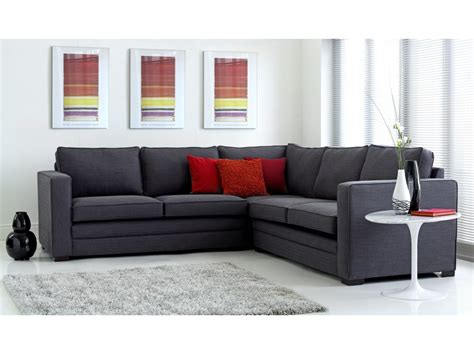 Fabric Leather Corner Sofa | Modular | The English Sofa ...