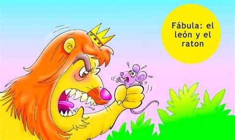 Fábula del león y el ratón para niños en 2020  con ...