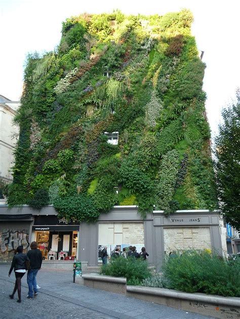 Façade végétale : Nouvelle technologie alliant mur végétal ...