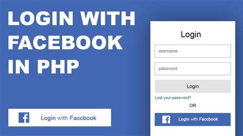 Facebook API | Login & Signup With Facebook In PHP   YouTube