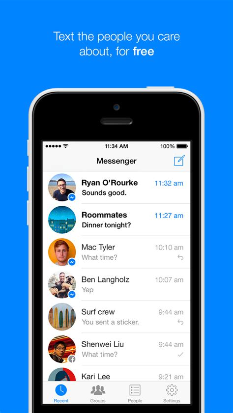 Facebook Messenger App Updated to Support iOS 8   iClarified