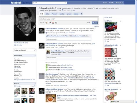 Facebook   old profile format | Colleen Greene | Flickr