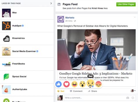 Facebook Reactions: What Marketers Need to Know : Social ...