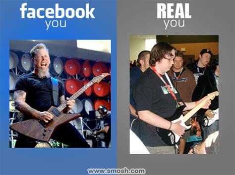 Facebook You Versus Real You