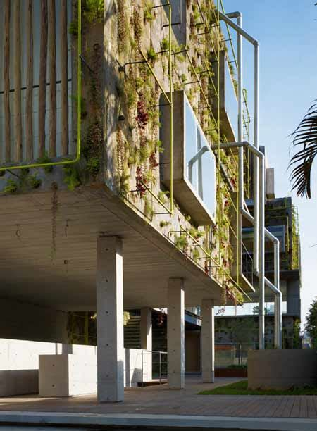 Fachada vegetal. Sistemas constructivos.   Urbanarbolismo