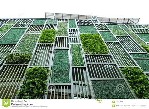 Fachada verde foto de stock. Imagem de vegetated, jardim ...