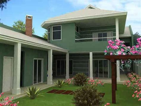 Fachada verde para casas é a nova tendência! 15 modelos e ...