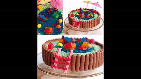 Fácil de cumpleaños ideas de decoración de tortas   Easy ...