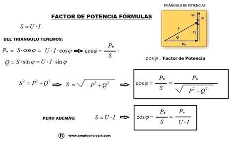 factor de potencia formula | Suma vectorial, Electricidad ...