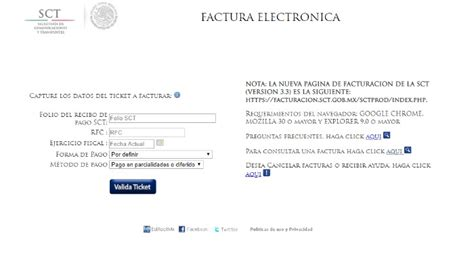 Facturación SCT • Consulta y descarga tu recibo en línea ...