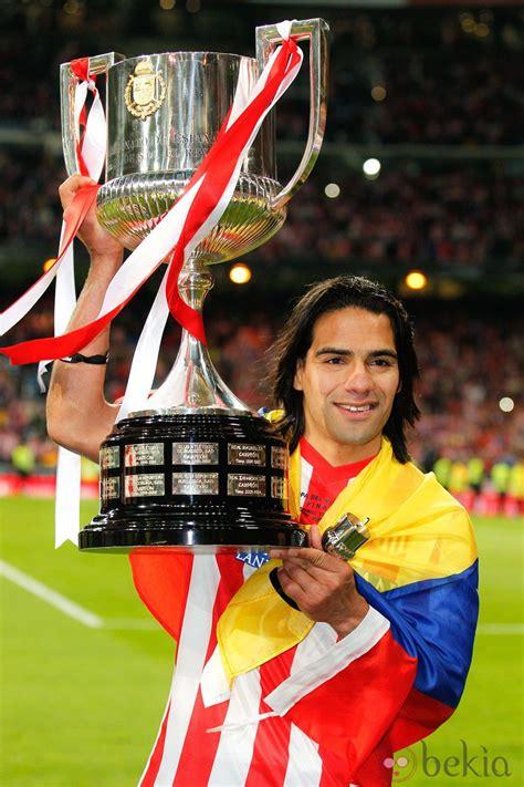Falcao con la Copa del Rey 2013   Final de la Copa del Rey ...