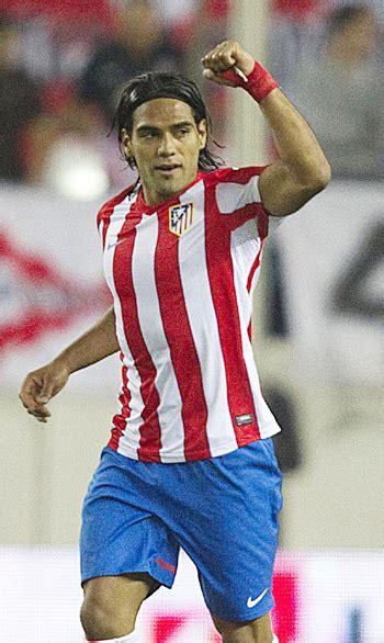Falcao, Diego score first Atletico goals   Rediff Sports