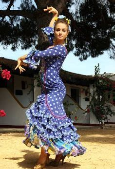 Falda campera Rayas y lunares | Flamenco | Pinterest