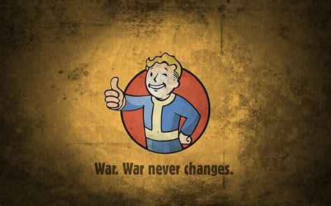 Fallout Vault Boy   War Never Changes Fond d écran and ...