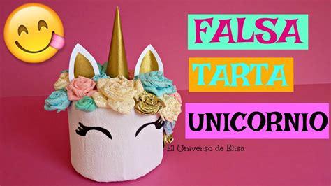 Falsa Tarta Unicornio, Decoración para Mesa Dulce ...