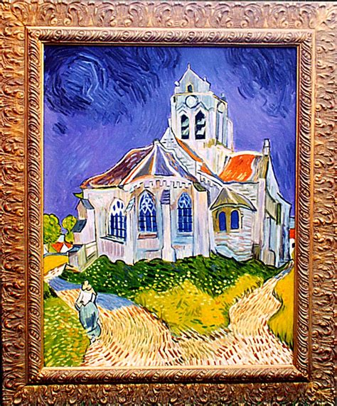 FALSI D ARTE Van Gogh La chiesa di Auvers