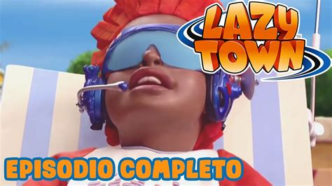 Falso Sportacus   Lazy Town en Español   Dibujos Animados ...